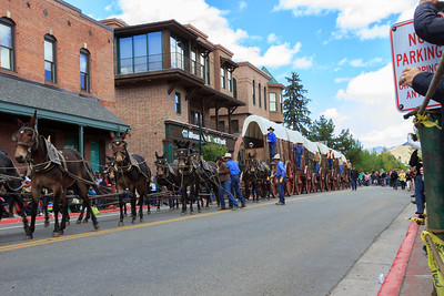 Wagons Days Parade Wagon Train