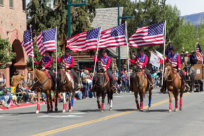 Wagon Days Parade 2015, Sun Valley, Idaho
