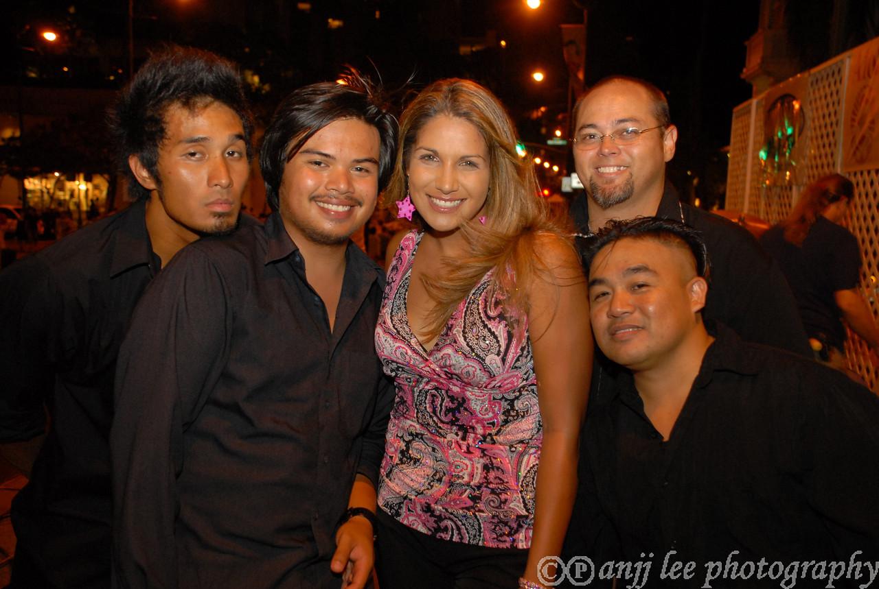 Waikiki Ho'olaulea 2007, music, happy people