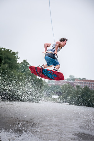 Wakeboarding at Rocketts Landing, <br>May 20, 2012