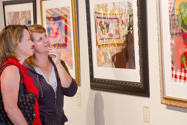 Waldren gallery opening