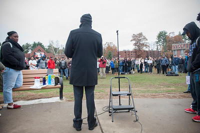 Walk-Out Against Hate Rally, Nov. 2017