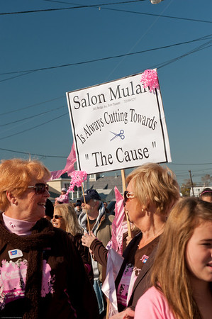 Walk for Breast Cancer in Point Pleasant- 10.17.10