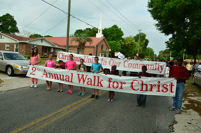 Walk for Christ 2015 in Live Oak