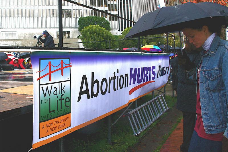 Abortion hurts women.