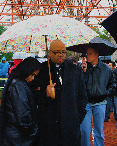 Rev. Clenard Childress focuses on the black genocide philosophy of Planned Parenthood founder Margaret Sanger. He has spoken at every Walk for Life.  <br /> <br /> Rev. Clenard Childress, founder of Blackgenocide.org and director of LEARN, who has spoken at every Walk since its inception in 2005; .. Rev. Childress has focused on the founder of Planned Parenthood Margaret Sanger's belief in eugenics.""