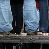 Muddy jeans