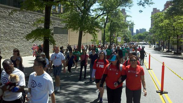 AIDS Walk New York 2012