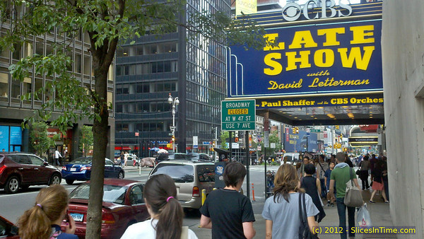 Ed Sullivan Theater, home of The Late Show with David Letterman
