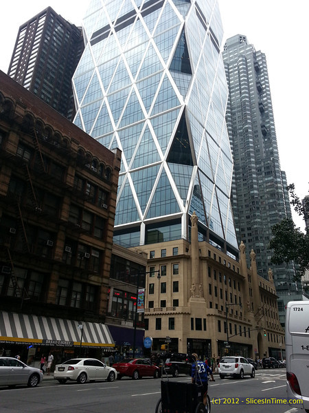 Hearst Tower - 8th Ave & 56th St