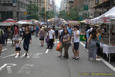 Food Fest on Lexington Ave, New York, NY