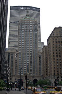 Pan Am Building (now MetLife), from Park Avenue at E 49th Street, New York, NY
