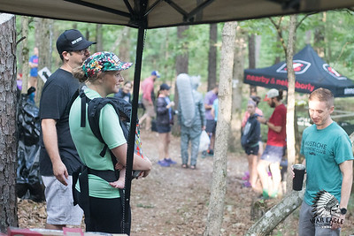 Runners embraced the humidity, taking on the 10k, 25k, or 50k course for War Eagle Trail Run at Hobbs State Park.