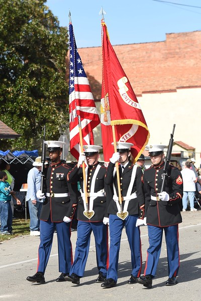 Warsaw Veterans Day Parade 2015-11-07