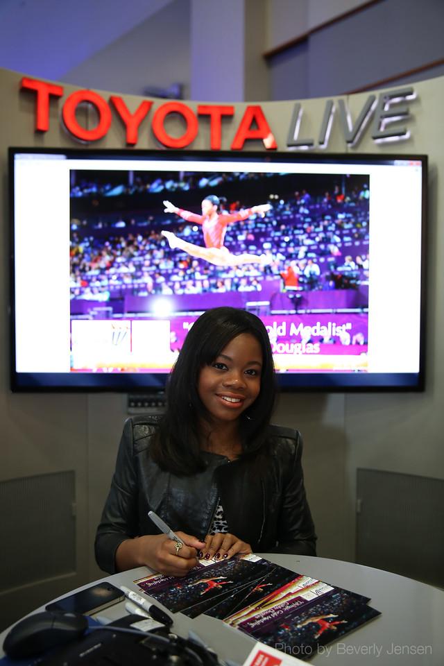 Olympic Gymnast Gabrielle Douglas