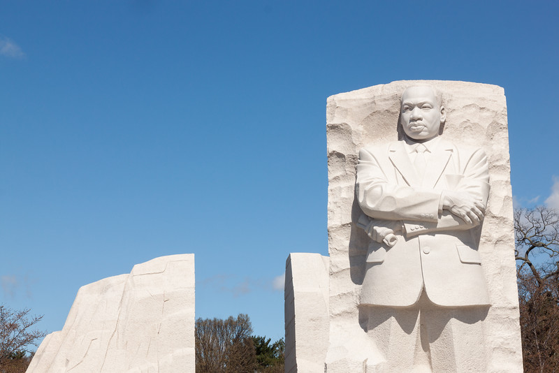 Martin Luther King, Jr. Memorial -- Front