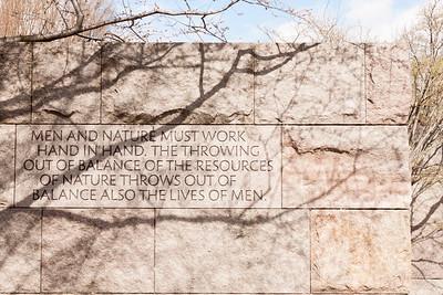 Roosevelt Memorial - Balance