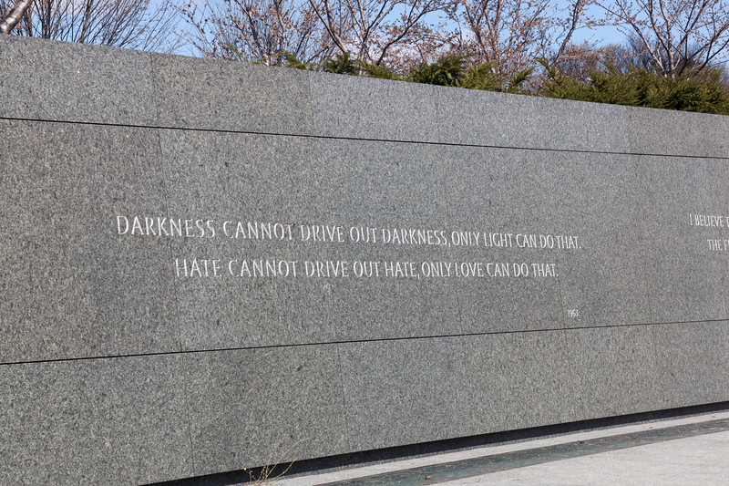 Martin Luther King, Jr. Memorial - Drive Out Darkness