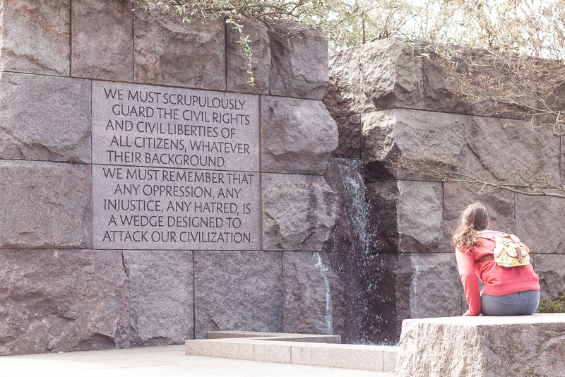 Roosevelt Memorial - Guard Civil Rights