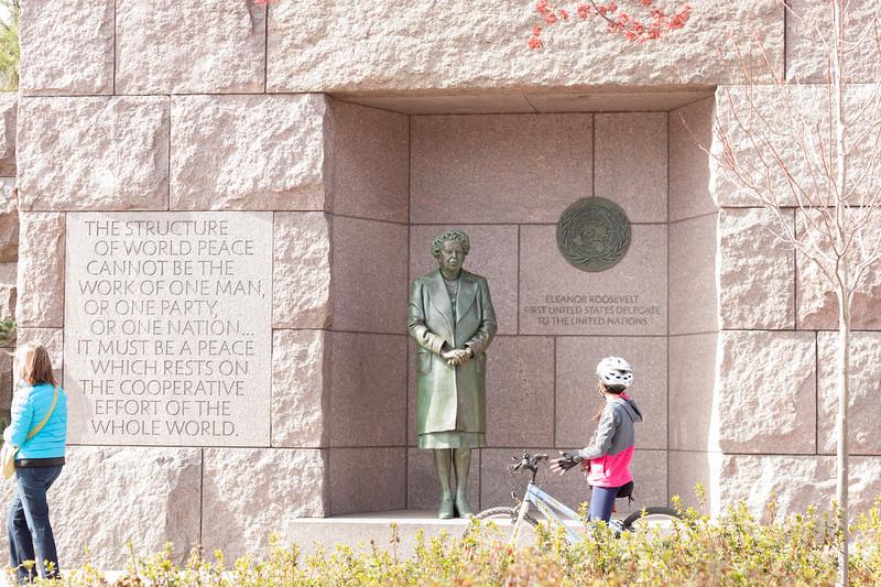 Roosevelt Memorial - Eleanor