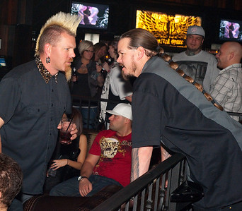"DOWNLOAD PHOTOS FREE * Courtesy of ""IS Vodka"" *  www.ISVodka.com  'IS is pronounced ""Ice"" in Iceland.  If you LIKE the Photos Leave Us your Comment in the Box below the Thumbnails. (You do not have to sign in to leave comments.) ThanX & Welcome to the 'IS AGE""  Content: Photographs of Carey Hart, motocross champion with rapper Big B and bands Sinner and Scott Russo at Wasteland in Hard Rock Casino in Las Vegas, Nevada. Big B and his crew performing here in Wasted Space, followed by bands: Scott Russo and Sinner."