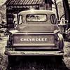 Vintage Chevy Pickup - Sepia