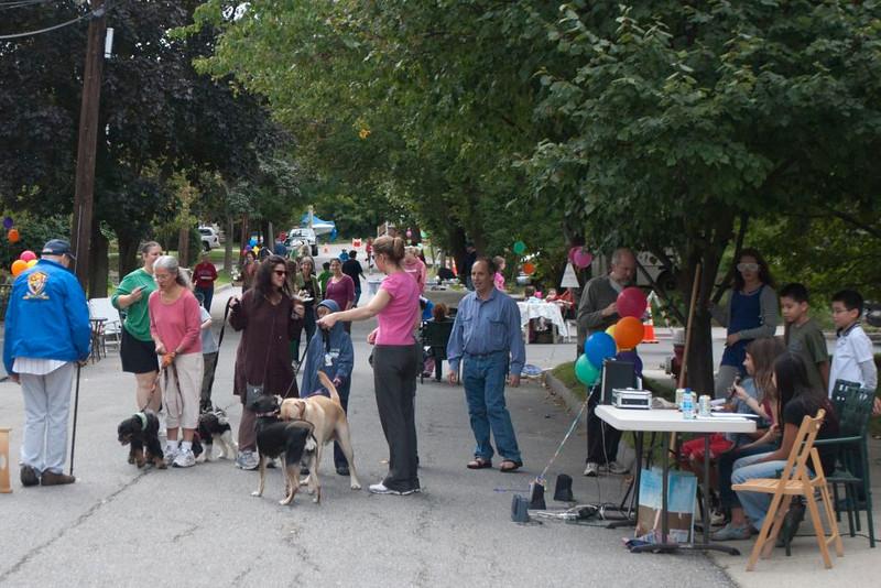 Neighborhood Block Party, Sunday, Sept 12, 2010.