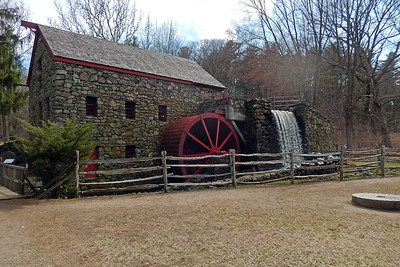 Grist Mill/Wayside Inn 4-3-2019