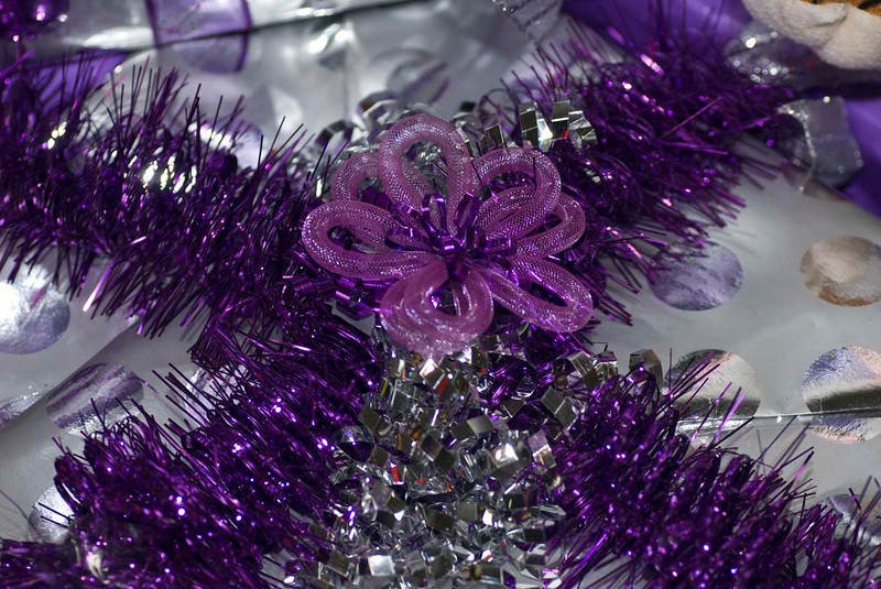 11/09:  Close-up of We Care Christmas tree decorations