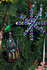 11/09:  Close-up of We Care Christmas tree decorations  (Howard County Recycling District)
