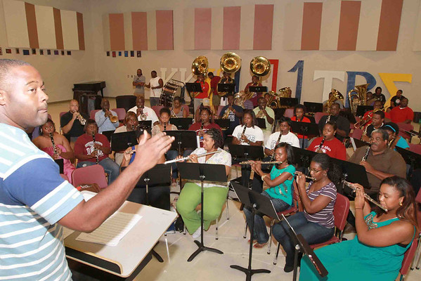 """We Salute You """"Maestro"""" Mr. Ronald J Sarjeant The Marching 101 Ensemble July 27-29 ,2012"""