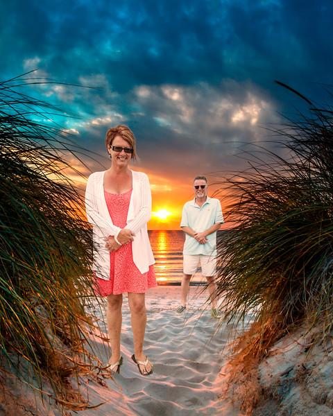 Lisa-MacOcean Sunset