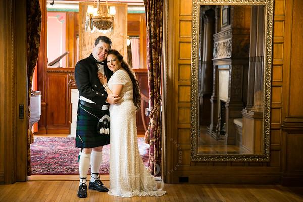 2016 4.9 Vicki & Andy | Van Dusen Mansion