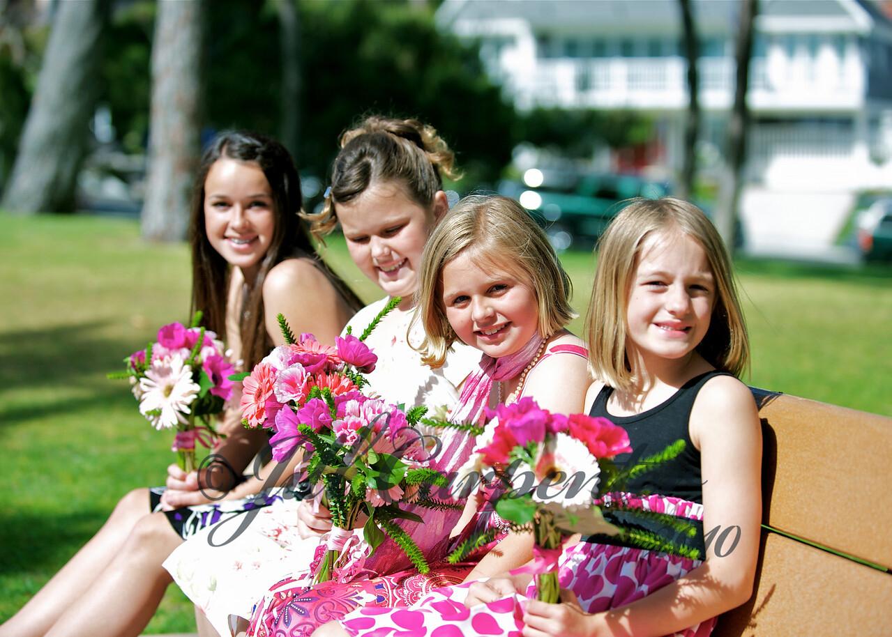 Amanda, Grace, Megan, Jasmine