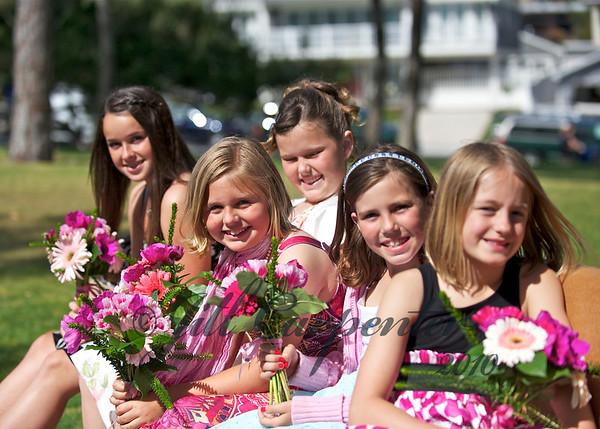 Amanda, Grace, Megan, Alexandria, Jasmine
