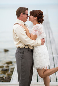 The wedding couple - finally!  I'll post more at http://www.aaronmphotography.com/Events/Weddings soon!