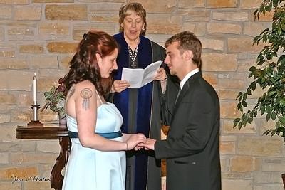 Wedding of Krystle & Levi - May 10, 2008