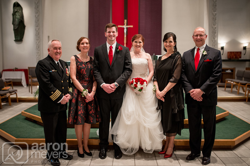 Steph & Paul Haley Wedding March 19, 2016 St. Mary Student Parish Ann Arbor, MI