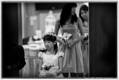 youngest bridesmaid