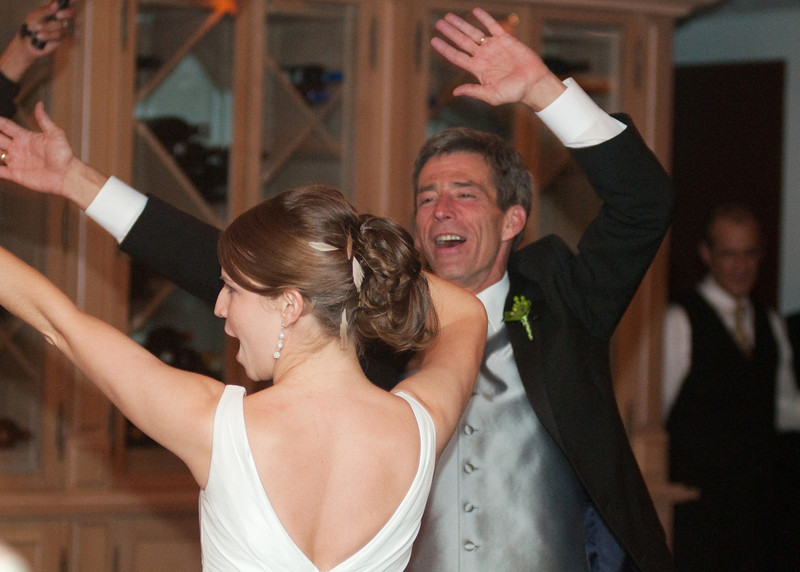 "Bride and her father dance to ""Faithfully"""