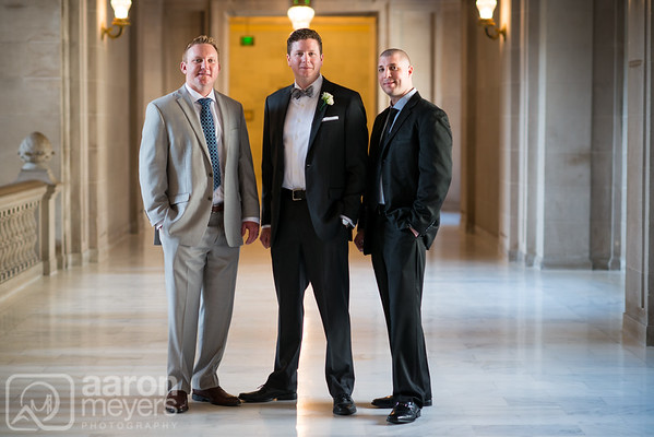 Liz and Justin Wedding April 9, 2015 San Francisco City Hall Aaron Meyers Photography
