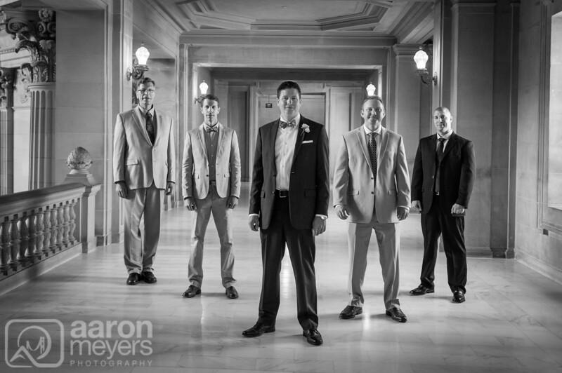 Liz and Justin Wedding April 9, 2015 San Francisco City Hall Aaron Meyers Photography