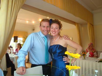 Me and chief bridesmaid Miranda