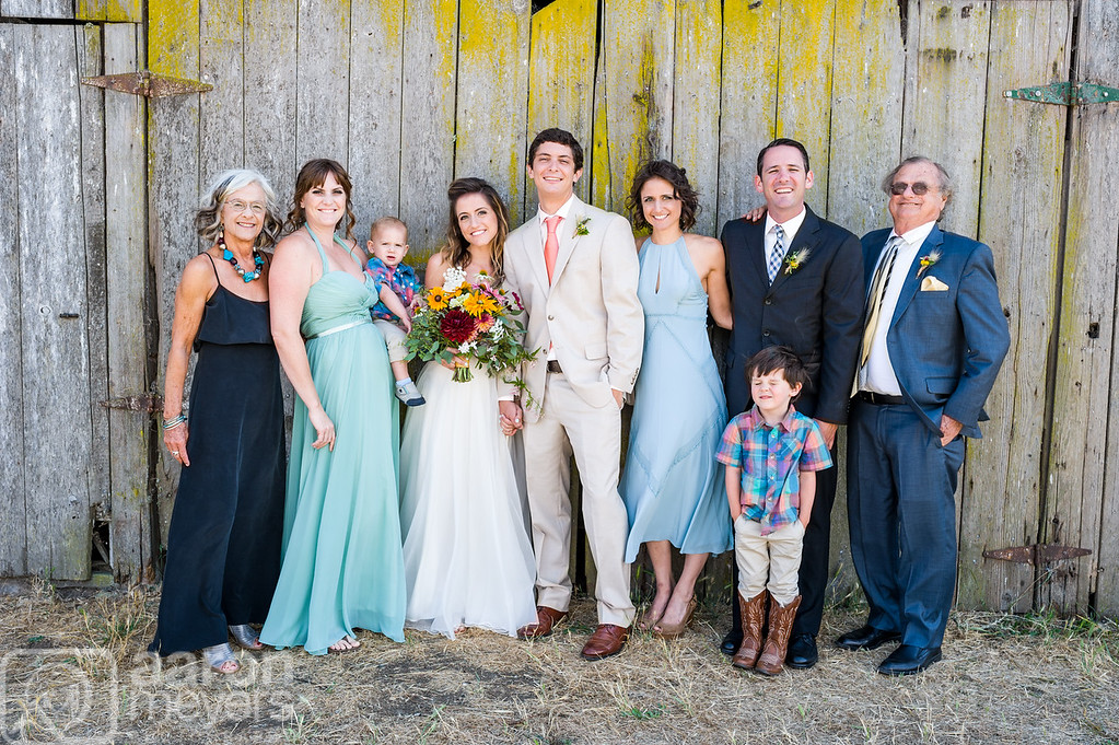 Shelley & JD Carluccio Wedding July 25, 2015 Cow Track Ranch, Sonoma, CA Aaron Meyers Photography