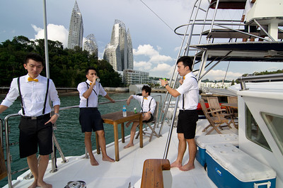 chill - we've done this many a time over the years, from KAP, al-ameen etc to Zhi Hao's wedding yacht today
