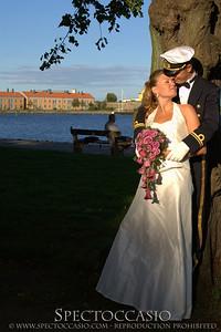 Bröllopsfotograf på Österlen i Skåne - levande porträtt