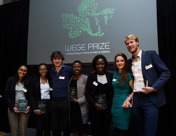 Wege Prize 2016 winning teams