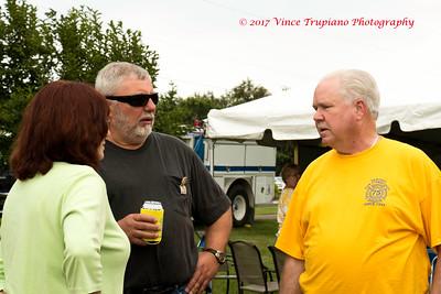 Fran Jones, Larry Alkire, and Chuck Wright