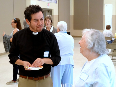 Welcoming Javier (Sr. Ministry) 2016
