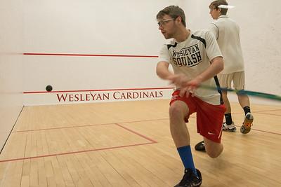 Wesleyan Squash Vs Haverford